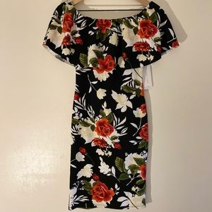Almost Famous Floral Dress Size Small